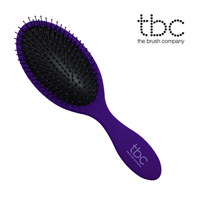 TBC® The Wet & Dry Brush hårbørste - Lilla Pure Purple