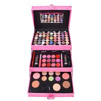 Miss Young Makeup Kit i Boks - Pink Holografisk