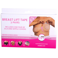 Bryst Tape Silicone Bye Bra push-up tape Str. D. E og F