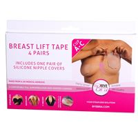 Bryst Tape silicone Bye Bra push-up tape Str. A. B og C