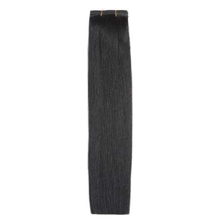 Trense Weft hair extensions 50 cm sort 1#