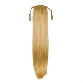 Pony tail fiber extensions straight 27# mellemblond