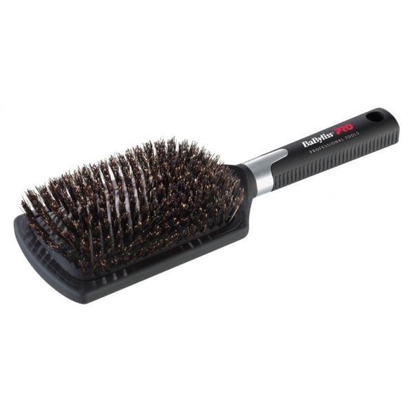 hårbørste med ægte hår