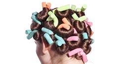 papilotter til håret