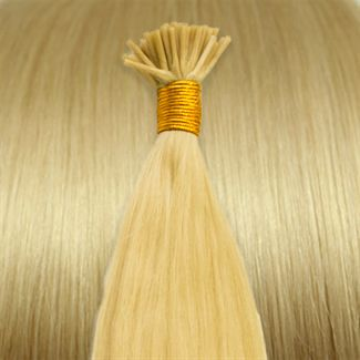 50 cm Cold Fusion hair extensions  blond 613#