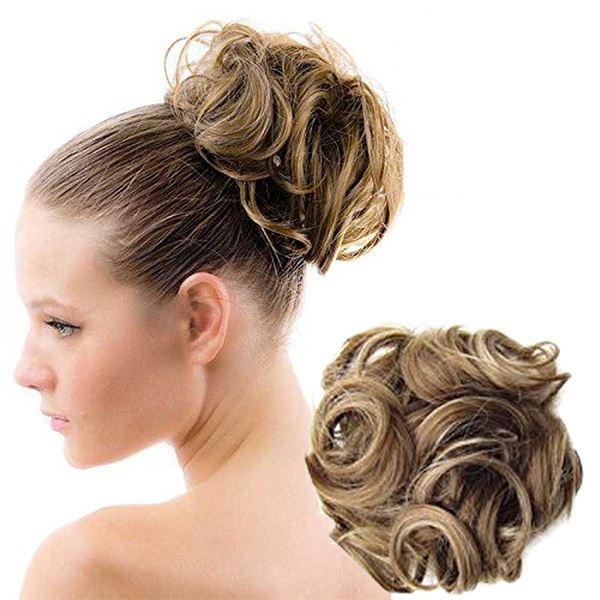 hårelastik med hår