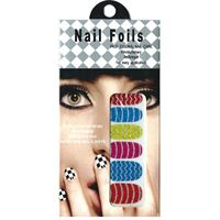 Nail Stickers - Nail Wrap 12 stk no. 10