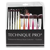 Technique Pro® Makeupbørster - 10 stk