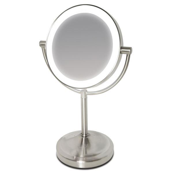 makeup spejl med lys UNIQ® Deluxe Makeup Spejl med LED Lys   Large | SPAR 25 80%! makeup spejl med lys