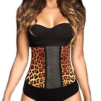 AVA® Latex Waist Trainer Leopard