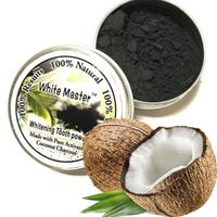Whitening Master® Coco Coal Teeth Whitening - sort tandpasta med aktivt kul (20 g)